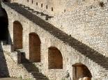 in der Burg von Nauplia