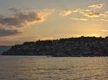 Abendstimmung am Ohridsee