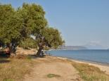 Stellplatz am Strand von Xiropotamon