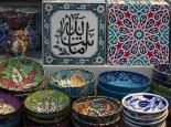 im Bazar für Touristen