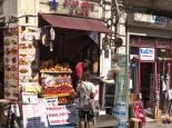 Straßenszene beim Taksim-Platz