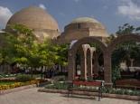 Die blaue Moschee in Tabriz ...