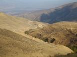 Blick vom Pass hinter Zanjan