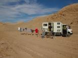 grosse Wäsche in der Wüste