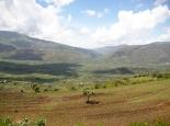 Agrarlandschaft auf 2000m Höhe