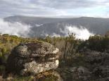 Aussichtspunkt am Südrand des Plateaus