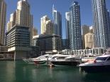 Hochhäuser in Dubai Marina
