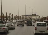 viel Verkehr auf dem Ring in Riad