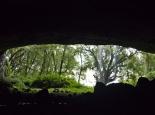 Blick aus der Tutum Höhle