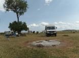 der Campsite im Park