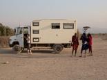 Camp bei den Maasai