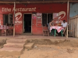 einfaches Lokal in Zomba