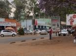 Straßenszene in Zomba