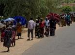 Straßenszene in Malawi