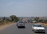 Einfahrt nach Lusaka