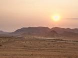 Wüstenstimmung in Hauchabfontain