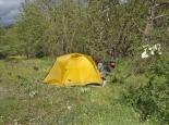 Camp hinter Vresthena