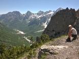 Zweitages-Wanderung von Theth ins Valbone Tal  (Albanische Alpen)
