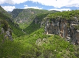 Das Pindosgebirge mit der Vikosschlucht in Nordgriechenland