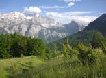 Die ursprünglichen Albanischen Alpen