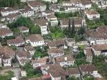 Blick von der Burg von Berat