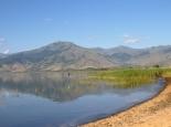 großer Prespasee - Blick auf mazedonisches Ufer