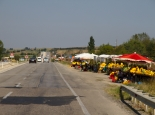 Landstraße nach Istanbul
