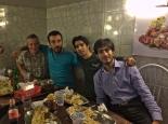 Kebabessen mit den iranischen Jungs