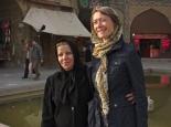 persische Touristin