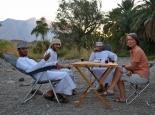 Besuch im Wadi Damm