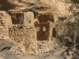 verlassenes Dorf im Canyon