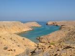 eine der Traum-Buchten bei Muscat