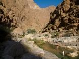Pools im Wadi Shab