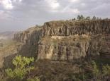 Schluchtenblick bei Debre Libanos