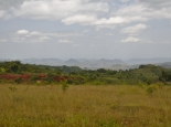 grüne Hügel bei Konso