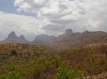 Blick zurück zu den Simien-Mountains