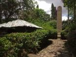 Biergarten in Axum