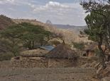 kleine Dörfer südlich von Axum