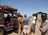 der äthiopische Militärposten