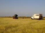 unser erstes Camp in Kenia