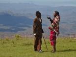 Weihnachtstreffen der Samburu-Frauen