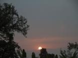 Sonnenuntergang über den Ruwenzoris