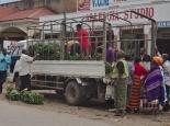 Straße in Kisoro
