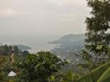 Blick auf den Kivu-See
