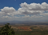Blick in Rift-Valley vor Nairobi
