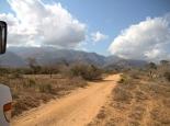 vor den Usambara-Bergen