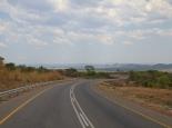 Zufahrt zum Sambesi