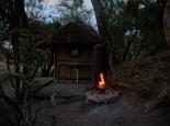 Abend im Camp