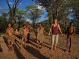 Tanz und Gesang für Touristen