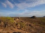 Landschaft westlich ausserhalb des Etosha NP